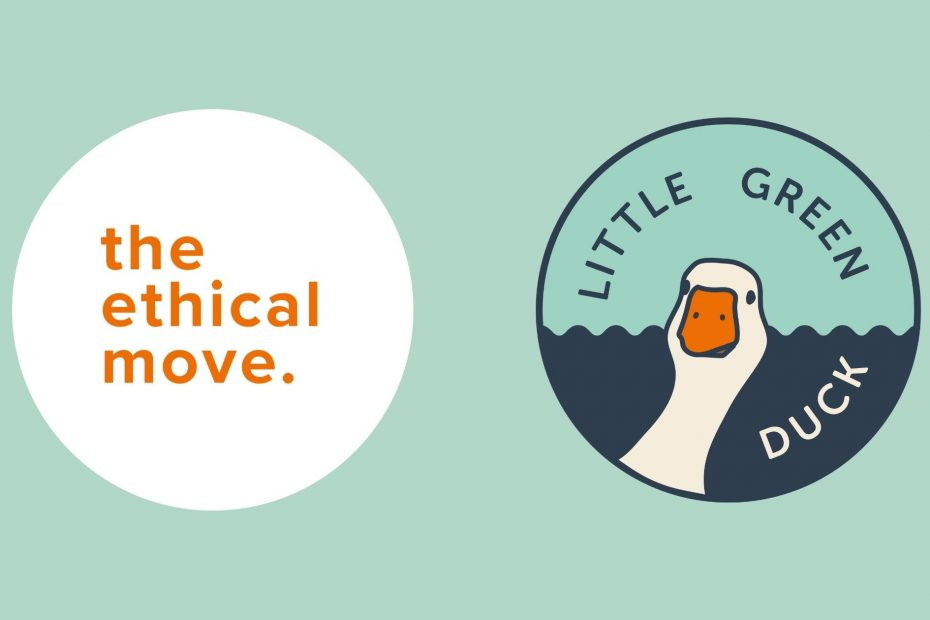 """the ethical move and little green duck logos and """"ethical issues with marketing"""""""